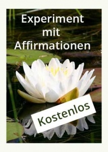 Experiment mit Affirmationen