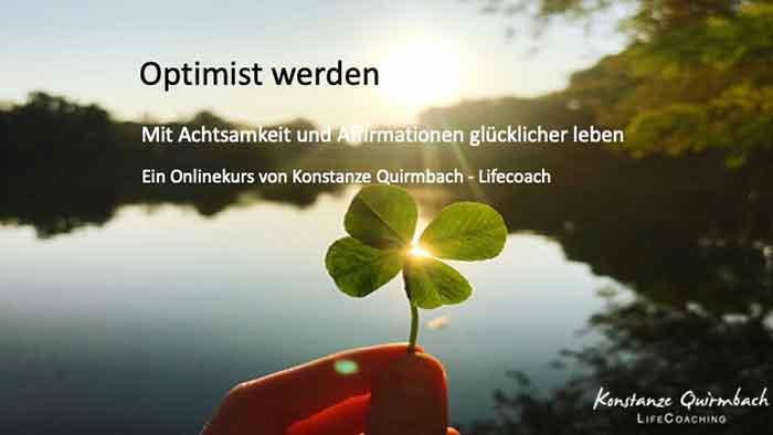 Werde Optimist, Video