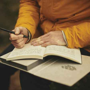 Schreibst du schon oder denkst du noch