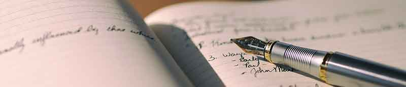 Tagebuchschreiben ist modern